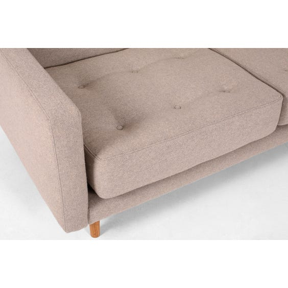 Grey modular chaise image