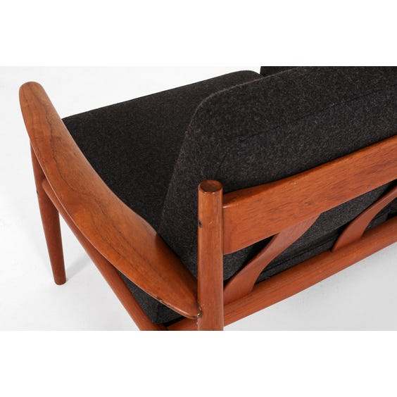 Grete Jalk charcoal sofa image