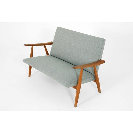 Midcentury Hans Wegner sofa image