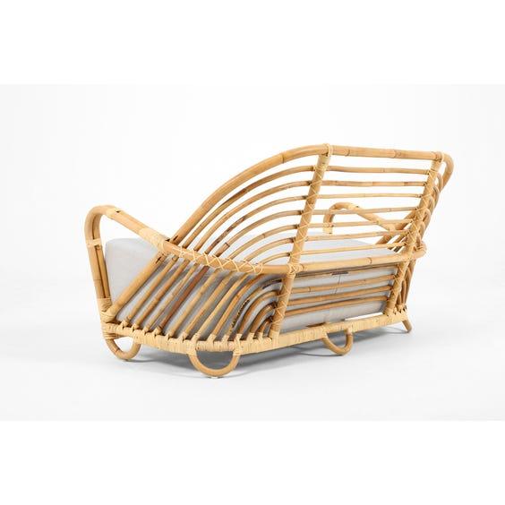 Midcentury rattan Arne Jacobsen sofa image