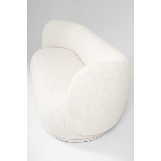 Postmodern boucle sofa image