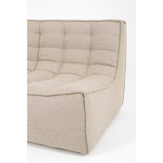 Small modular grid sofa image