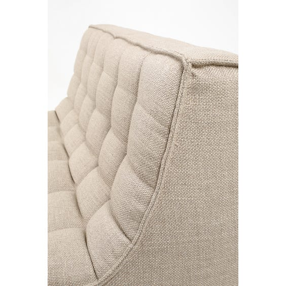 Modern woven two seater sofa image