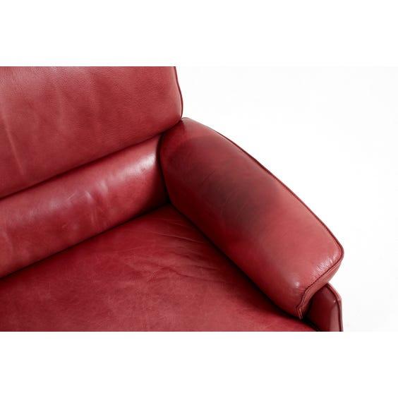 Muted raspberry De Sede sofa  image