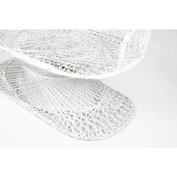 American spun fibreglass garden seat  image