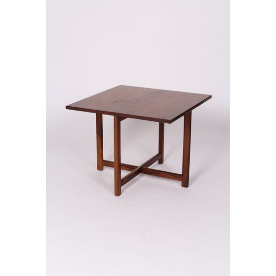 Rosewood gate leg side table image