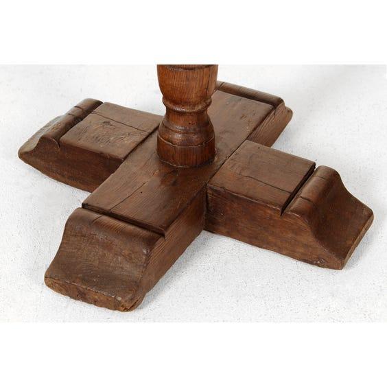 Venetian fruitwood side table image
