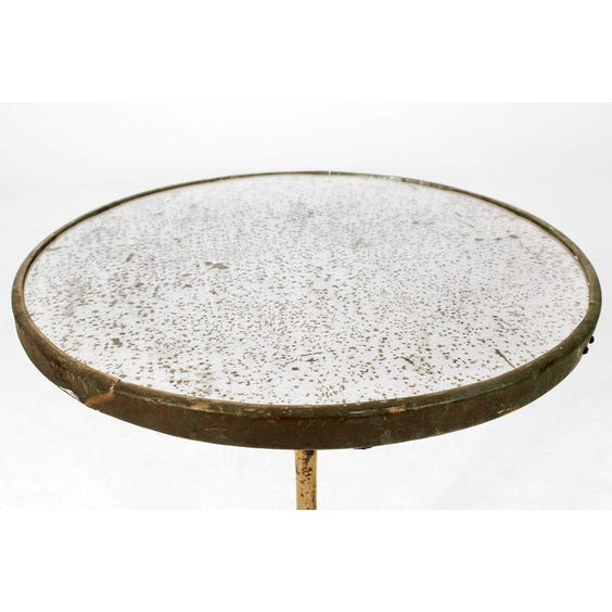 Period foxed glass table image