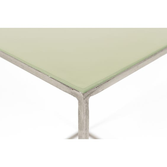 Nest of jade top tables image
