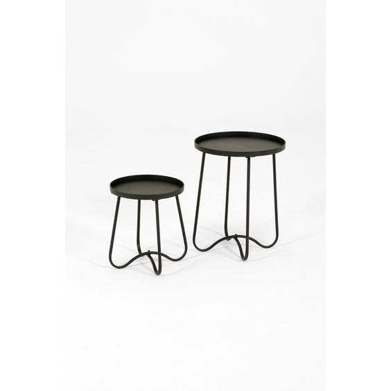 Small modern black table image