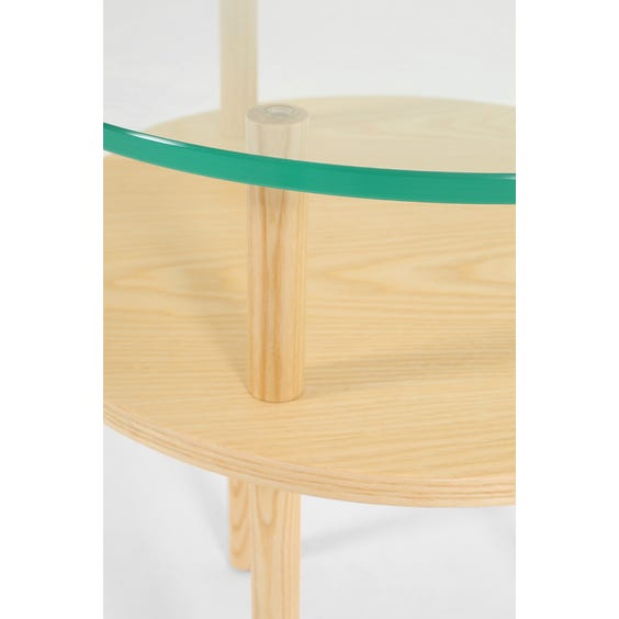 Modern circular Terence Woodgate side table  image