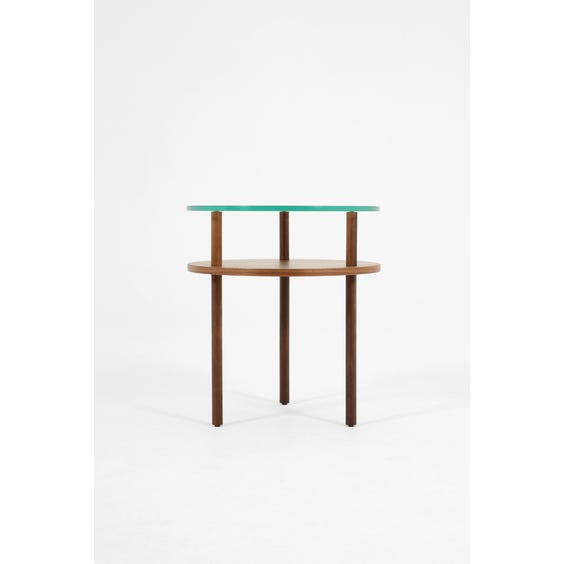 Modern walnut Terence Woodgate side table image