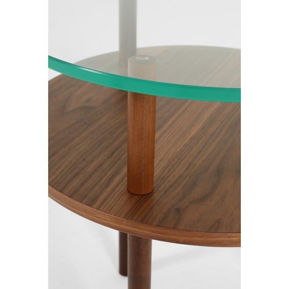 Walnut Woodgate side table image