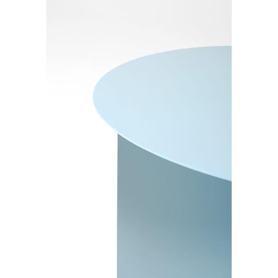 Modern powder blue side table  image