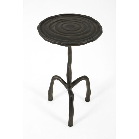 Small brutalist martini side table image