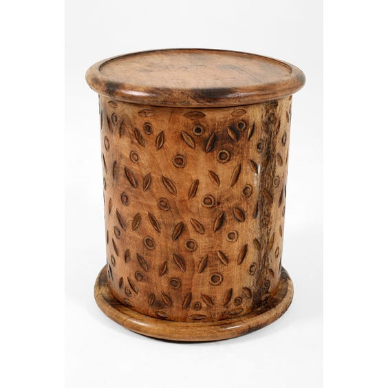 Drum side table  image