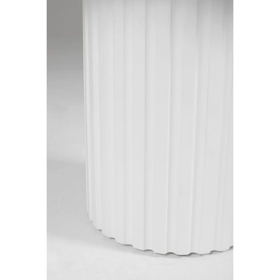 Postmodern fluted side table image