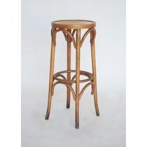 Vintage bentwood tall stool