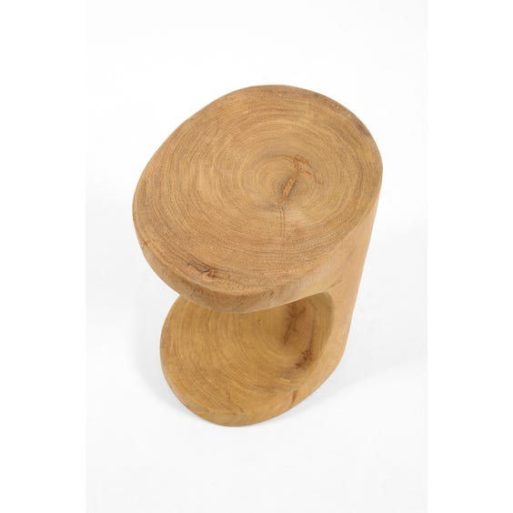 Single arch wooden stool image