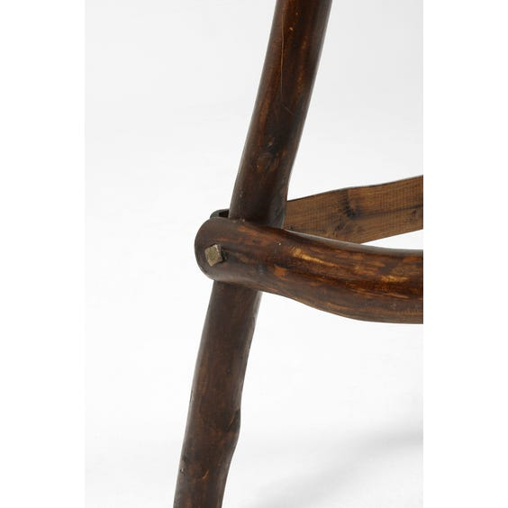 Primitive bar stool  image
