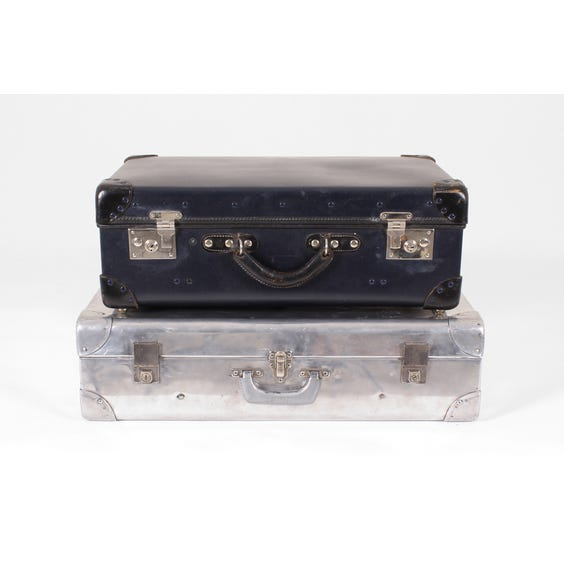 Two vintage suitcases image