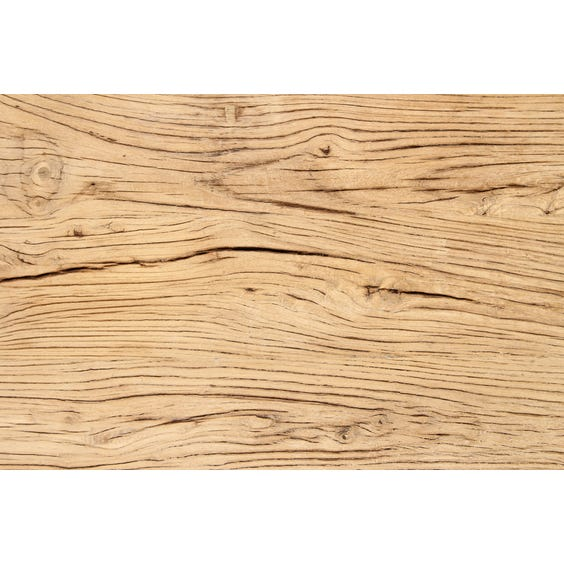 Rustic Chinese elm table top image