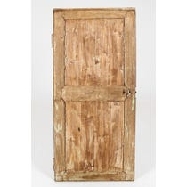 18th C stripped oak door