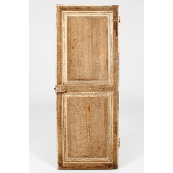 18th C stripped oak reversible door image