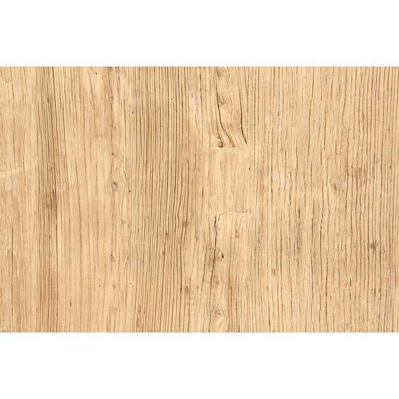Rustic Chinese elm medium table top image