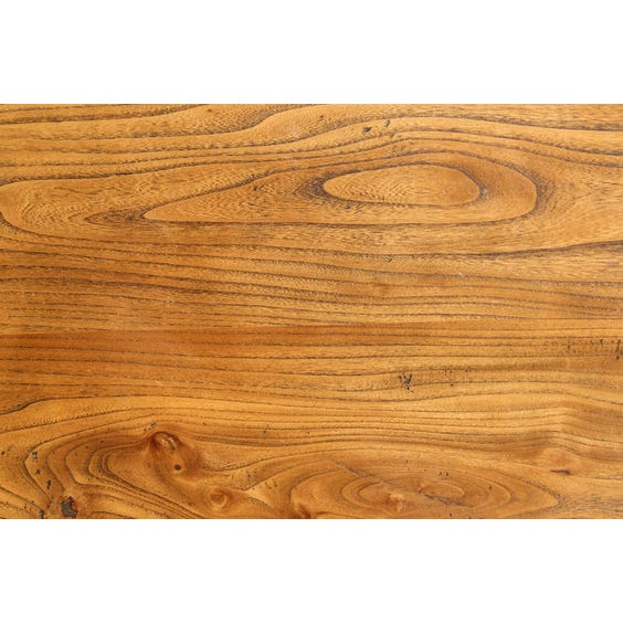 French dark elm table top image