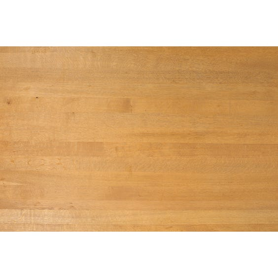 Simple oak table top image
