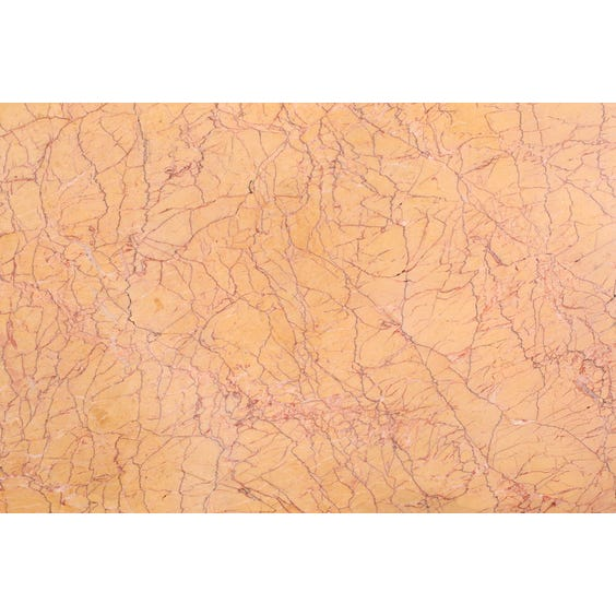 Semi circular peach marble surface image