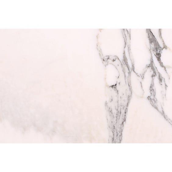 Polished white marble surface image