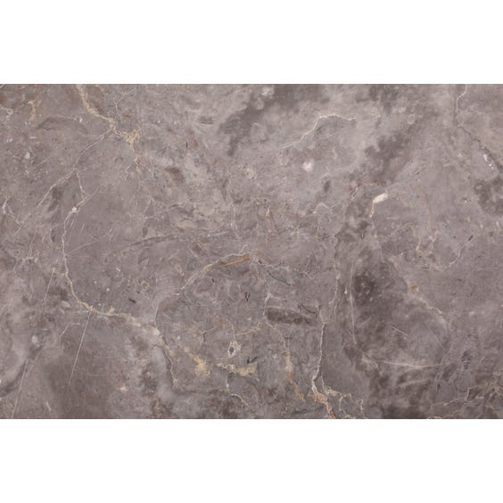 Clouded mid grey marble surface image