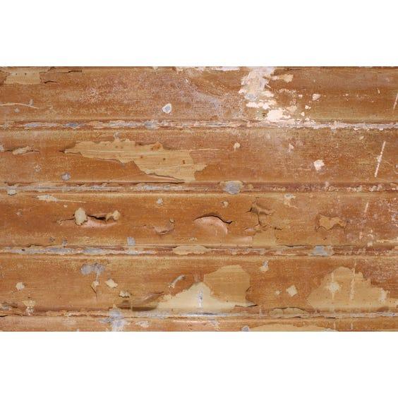 Rectangular weathered corrugated iron sheet image