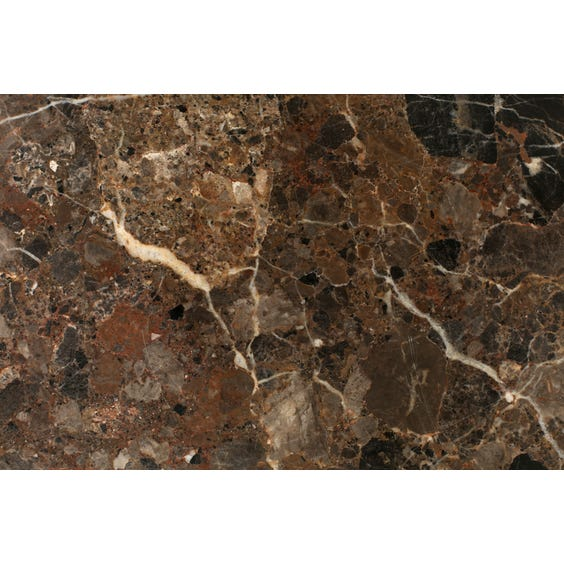 Rectangular brown marble surface image