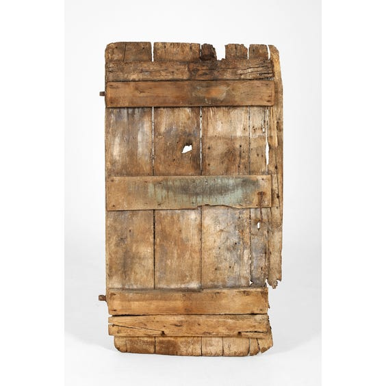 Antique distressed rustic door image