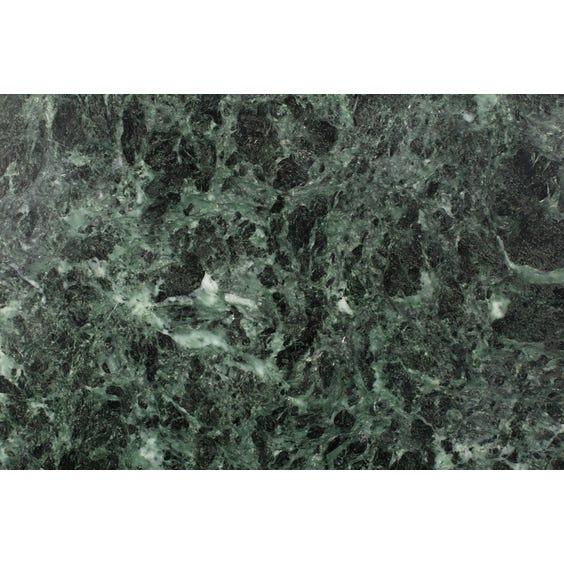Narrow green marble surface image