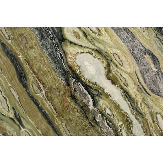 Rectangular green marble surface image