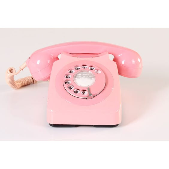 Pink period telephone image
