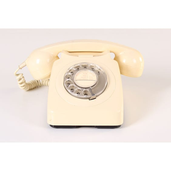 Cream period telephone image