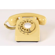 Mustard period telephone