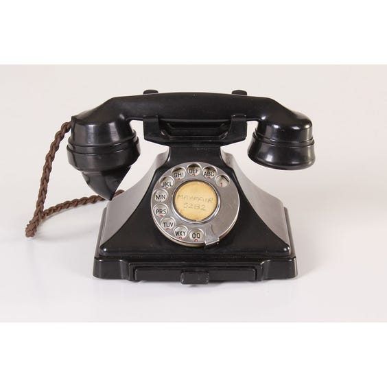 Black period telephone image