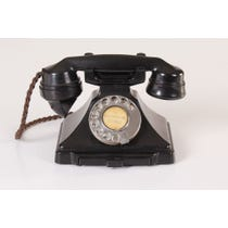 Black period telephone