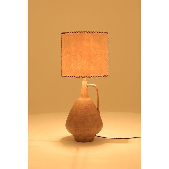 Large ceramic jug table lamp image