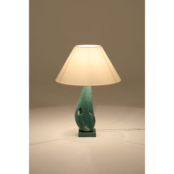 Midcentury sculptural table lamp image