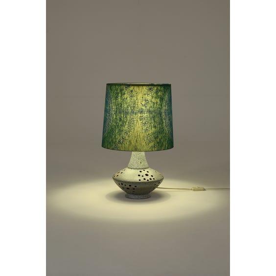 Midcentury glazed ceramic table lamp image