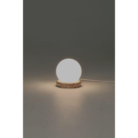Postmodern opaque sphere lamp image
