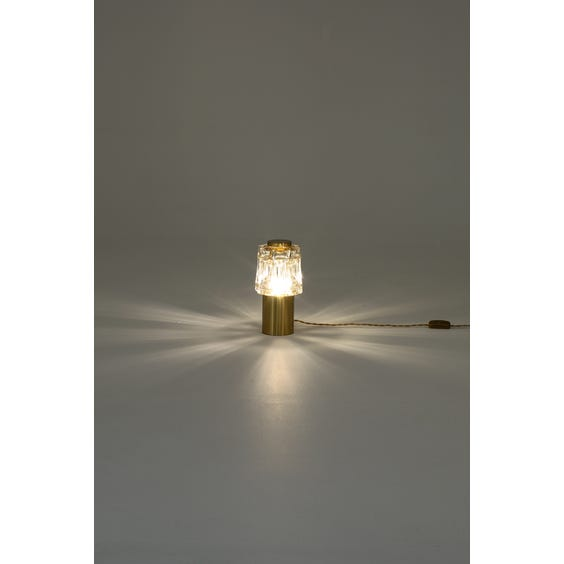 Midcentury Murano style table lamp  image
