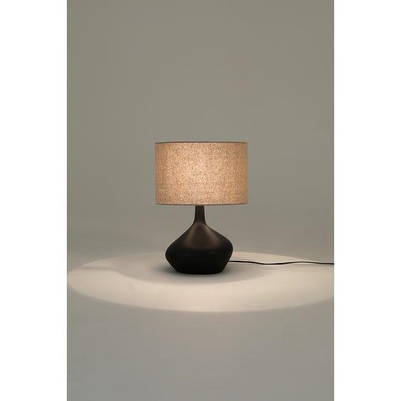 Postmodern black asymmetric lamp image
